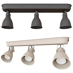 ikea hectar ceiling lamps 3D