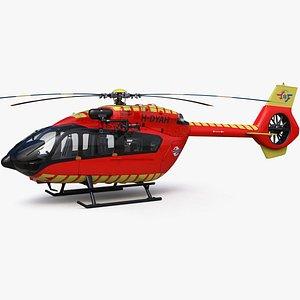 3D Airbus H145 Emergency LEGE model