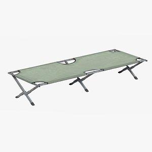 3D Camping Cot v3 model