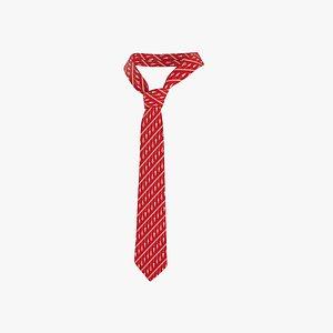 necktie tie 3D model