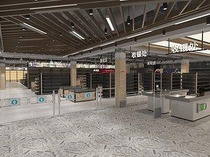 3D supermarket market