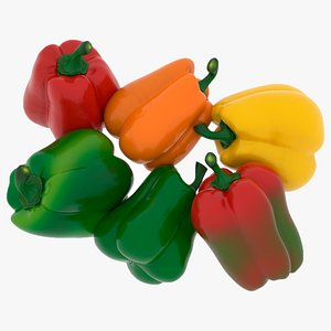 bell peppers 3D