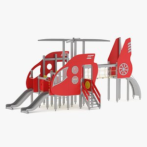 3D Lappset Helicopter model