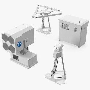 Airport Bird Collision Avoidance System Set model