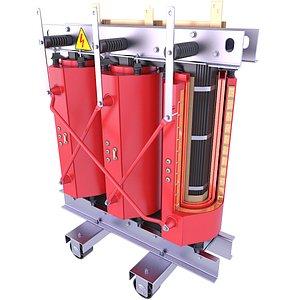 Cast Resin Transformer Inside 67 3D model