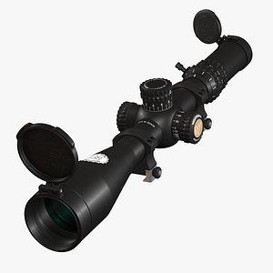 3D model nightforce military scope