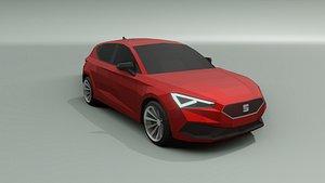 3D seat leon model