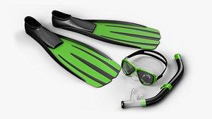 3D Swim Set PBR