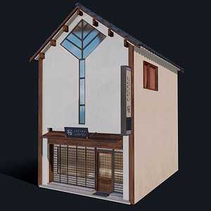 3D japanese houses