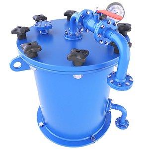 industrial vessel pressure 3D model