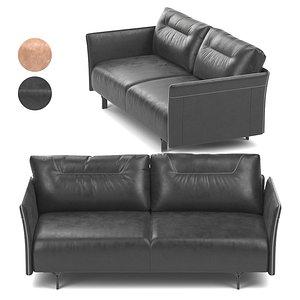 Tenore Sofa by Natuzzi 3D model