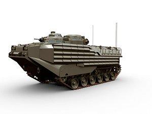 3D AAV7-A1 Armoured