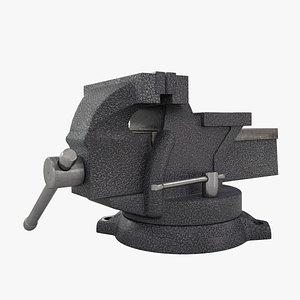 3D Vise Zitom 100mm 3D model