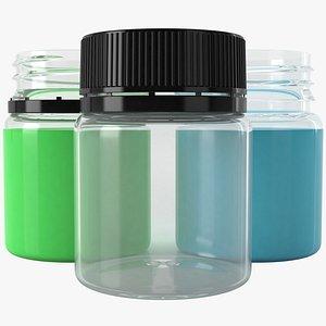 3D ink bottle model