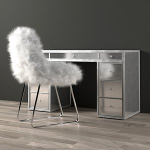 3D desk mirror delaney