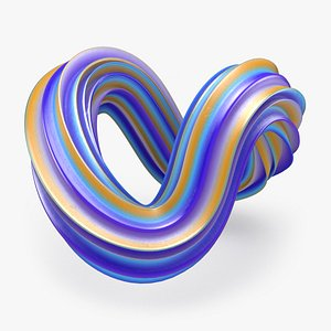 3D Abstract Shape 03