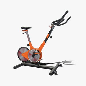 3D model Spin Bike