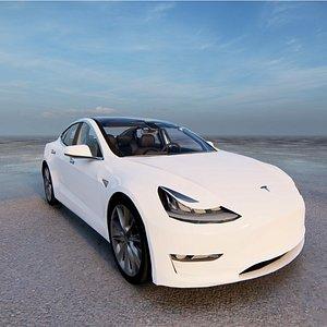 Tesla Model 3 3D model