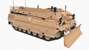 3D Pionierpanzer Wisent 1 ARV Bysanders 3D Models