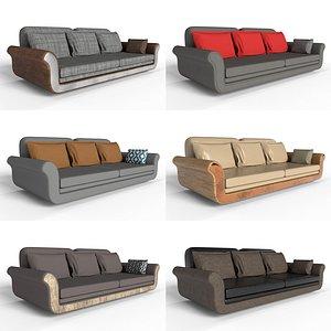 3D Sofa Full Set model