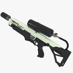 THE BORING COMPANY NOT A FLAMETHROWER GUN 3D