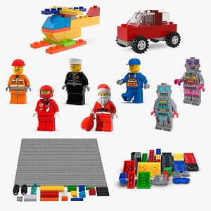 3D Lego Collection 4 model