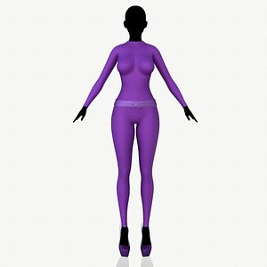 fashion clothing 3D model