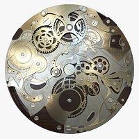 Clock Mechanism Wood